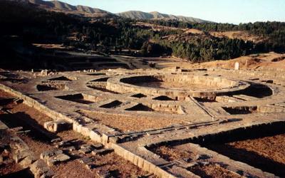 Храмовая территория саксаюамана