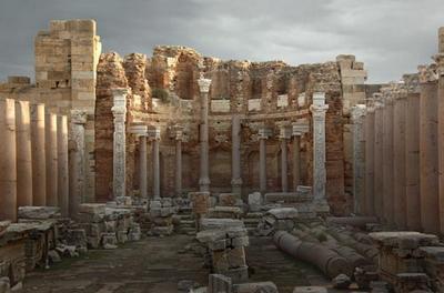 Развалины храма древних шумеров